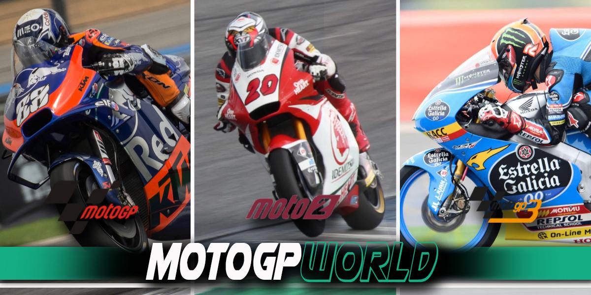 MotoGPมีรุ่นการแข่งขันอะไรบ้าง