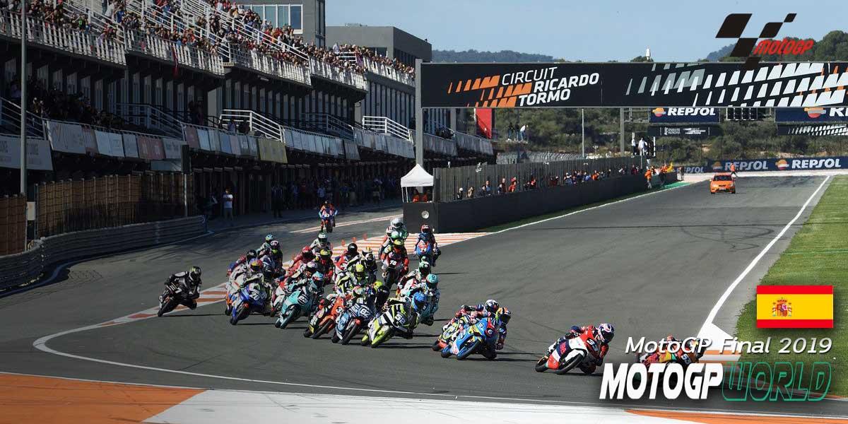 "MotoGP Final 2019 ""Circuit Ricardo Tormo"""