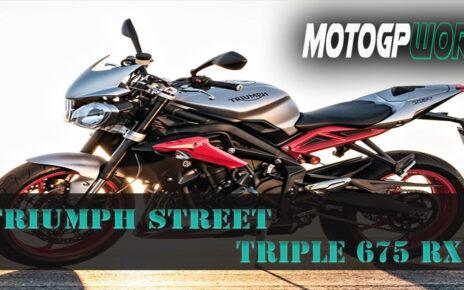 Triumph Street Triple 675 RX